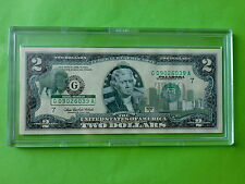 2003 $2 Overprint, Oklahoma in Presentation Plastic Case (UNC), US Legal Tender