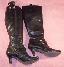 Paul GREEN ♥ Stiefel ♥ Gr. 4 / 37 ♥ *TOP* ♥ schlicht ♥ echtes Leder ♥ Handemade