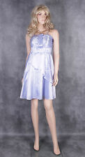 New Lilac JK2 Evening Dress Size 42 uk 10 12 Ladies Satin Party Frock Cocktail