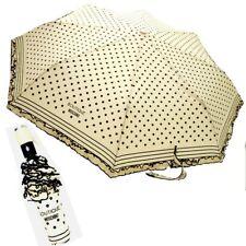 Ombrello Moschino Beige con pois Openclose Umbrella