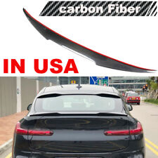 Carbon Fiber Rear Boot Spoiler Trunk Wing Lip Fit For BMW X4 G02 2019-2020