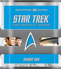 STAR TREK - THE ORIGINAL SERIES SEASON 2 (REMASTERED EDITION) (BOXSET) (DVD) New