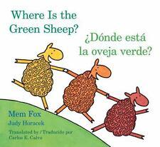 Donde Esta La Oveja Verde?/Where Is the Green Sheep? (Board Book)
