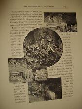 livre ancien LES MONTAGNES DE LA GRANDE CHARTREUSE HENRI FERRAND 165 gravure