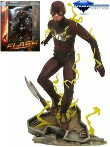 Diamond Select Toys DC Gallery CW The Flash PVC Figure / Diorama New In Stock
