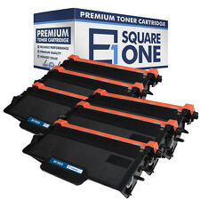 eSquareOne Toner Cartridge Replacement for Brother TN850 TN820 (Black, 6-Pack)