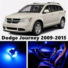 10pcs LED Blue Light Interior Package Kit for Dodge Journey 2009-2015