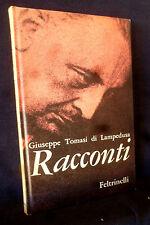 Giuseppe TOMASI di LAMPEDUSA - I RACCONTI - Feltrinelli 1961 I CONTEMPORANEI 26