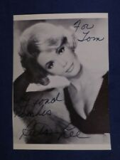 Ruta Lee Signed 3.5 x 5 Black and White Photo with COA