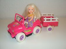 Barbie Shelly mit Auto