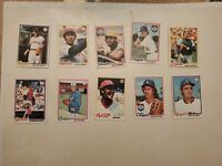 1978 Topps Baseball Lot of 22 Diff Cards w Mostly Stars & HOFers Thurman Munson