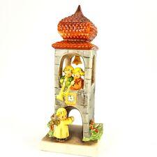 "Goebel Hummel W Germany Whitsuntide 6.5"" Figurine #163 Angels In Bell Tower Vtg"