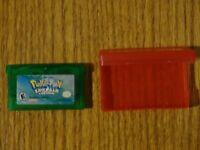 Authentic Pokemon Emerald Version (Game Boy Advance GBA) Cartridge - Dry Battery