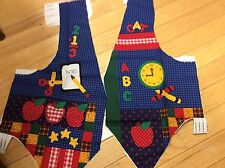 DREAMSPINNERS VIP-BACK TO SCHOOL -CHILDREN'S VEST PANEL XS-S-M-L -CUT