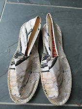 Paul Smith - White Multi coloured Espadrilles Size EU 44 UK 10