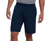 Adidas Training Shorts Mens Small to 2XL New Blue Climalite Axis Knit 9 Inch