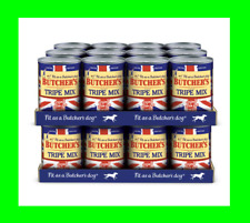 More details for butchers tripe mix healthy dog food grain free natural balanced (24 x 400g tins)
