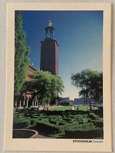 Postcard- Sweden Stockholm Free Shipping
