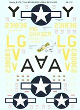MICROSCALE DECALS 1/48 BOEING B-17G Flying Fortress #ss481122