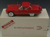 DANBURY MINT 1956 FORD THUNDERBIRD CONVERTIBLE MODEL 1:24 SCALE DIE CAST MIB #3
