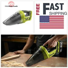 Ryobi 18-Volt ONE+ Cordless Hand Vacuum (Tool-Only) Vac Shop Cleanup Portable