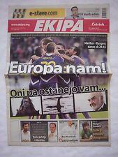 Orig.PRG   Europa League   2011/12   NK MARIBOR - GLASGOW RANGERS  //  Edition A
