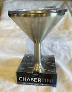NEW ORCA Chasertini 8 oz Martini 18/8 Stainless Steel Vessel - For Any Beverage