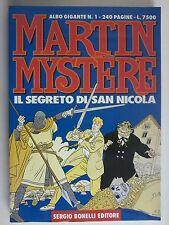 ALBO GIGANTE MARTIN MYSTERE: N.1UNO! IL SEGRETO DI SAN NICOLA. BONELLI 1995 OK!
