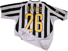 maglia juventus match worn Davids nike 2003 2004 fastweb L player issue