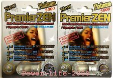 2x PREMIER ZEN MIRACLE ZEN PLATINUM Male Sexual Performance Enhancement ORIGINAL