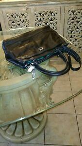 COACH  Black Briefcase purse