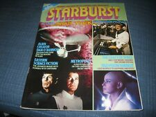 STARBURST MAGAZINE NO 17 STAR TREK MOTION PICTURE ALIEN METROPOLIS DR WHO VGC