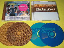 Clubbed Out 2 & Bar Culture Essential Pre-Club Mix 2 CD Albums ft Air Zero 7 Blu