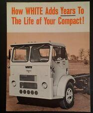 1968 White Compact Tractor Truck Sales Brochure  Rare VHTF 8.5 x 11 Original