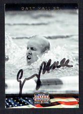 Gary Hall Jr. #92 signed autograph 2012 Panini Americana Heroes & Legends