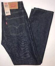 Levis 511 Jeans Dark Wash Blue Denim Slim Fit Youth 16 Regular 28 X 28