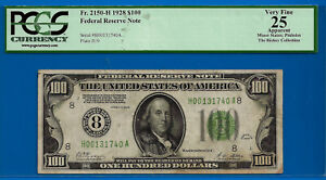 1928 $100 FRN (( St. Louis - Redeemable in Gold )) PCGS 25 - H00131740A-