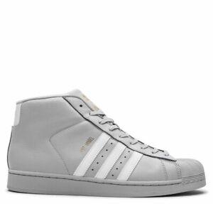 ADIDAS PRO MODEL (CG5073)  Grey / White / Gold -    MEN SIZE  8.5