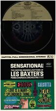 LES BAXTER Sensational! CAPITOL STEREO 12 TRACK 7 1/2 ips USED REEL TO REEL TAPE