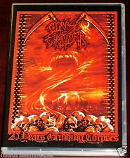 Corpse amoladora: 20 AÑOS rechinar cadáveres DVD+CD Juego 2009 Kill Again