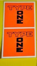 2X 7cm Spoon Sports TYPE ONE Racing Decal Sticker Civic EK9 EP3 IntegraDC2 S2000