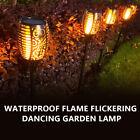 4x Solar Power Torch Light Waterproof Flame Flickering Dancing Garden Lamp