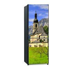 Kühlschrank Tür Aufkleber Klebefolie Berühmtes Wahrzeichen der Ramsau Bayern