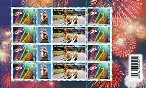 Switzerland 1999 MILLENNIUM- Sheet of 8 stamps - SINDELFINGEN, Mint Never Hinged