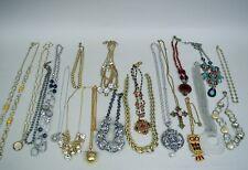 Lot of 20 Vintage/Contemporary Necklaces - Trifari, Banana Republic, Napier, Etc