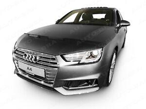 Bonnet Bra für Audi A4 S4 B9 Bj. ab 2015 Car BRA Steinschlagschutz Haubenbra