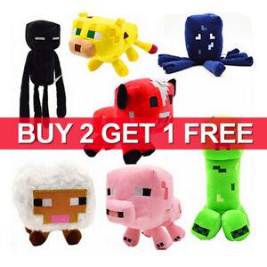 Minecraft Plush Toy Kids Animal Gift Children Stuffed Soft Plushies Game TOY