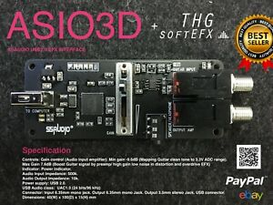 SSAUDIO ASIO 3D Sound Card and THG SoftEFX (Microsoft OS) MultiEFX Software
