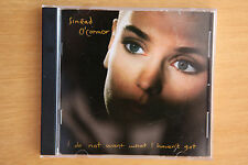 Sinéad O'Connor – I Do Not Want What I Haven't Got  *FREE POST*  (REF BOX C10)