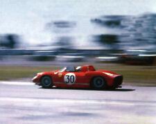 New! Vintage Color 8X10 1963 Sebring Winner - Ferrari 250P Surtees / Scarfiotti